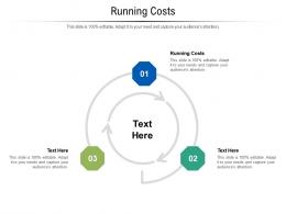 Running Costs Ppt Powerpoint Presentation Pictures Styles Cpb