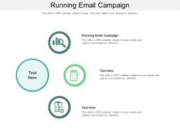 Running Email Campaign Ppt Powerpoint Presentation Backgrounds Cpb