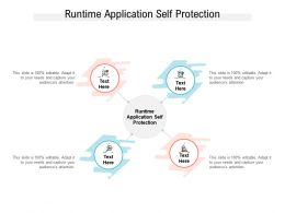 Runtime Application Self Protection Ppt Powerpoint Presentation Summary Infographic Template Cpb