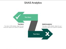 SaaS Analytics Ppt Powerpoint Presentation Show Graphics Download Cpb