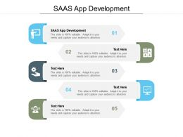 SAAS App Development Ppt Powerpoint Presentation Inspiration Guidelines Cpb