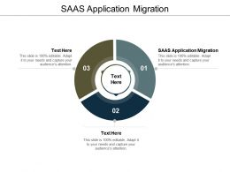 SAAS Application Migration Ppt Powerpoint Presentation Styles Designs Cpb