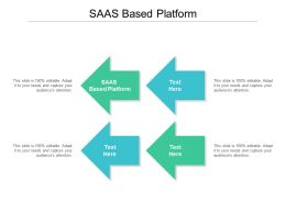 SAAS Based Platform Ppt Powerpoint Presentation Visual Aids Portfolio Cpb