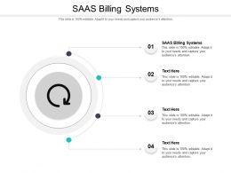 SAAS Billing Systems Ppt Powerpoint Presentation Portfolio Example Topics Cpb