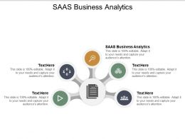 SAAS Business Analytics Ppt Powerpoint Presentation Styles Display Cpb