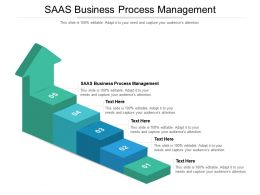 SAAS Business Process Management Ppt Powerpoint Presentation Show Templates Cpb