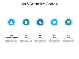 SaaS Competitive Analysis Ppt Powerpoint Presentation Introduction Cpb