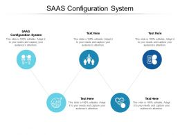 SAAS Configuration System Ppt Powerpoint Presentation Infographics Graphics Tutorials Cpb