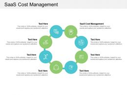Saas Cost Management Ppt Powerpoint Presentation Pictures Inspiration Cpb