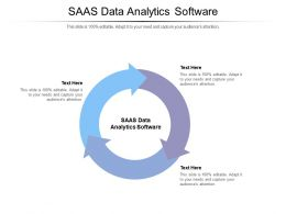 SAAS Data Analytics Software Ppt Powerpoint Presentation Infographic Template Icons Cpb