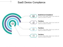 SaaS Device Compliance Ppt Powerpoint Presentation Outline Example Cpb