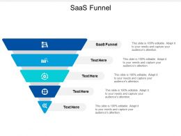 Saas Funnel Ppt Powerpoint Presentation Professional Example Introduction Cpb