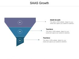SAAS Growth Ppt Powerpoint Presentation Pictures Examples Cpb