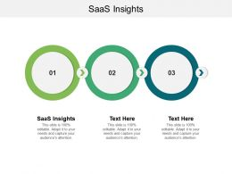 SaaS Insights Ppt Powerpoint Presentation Icon Clipart Images Cpb
