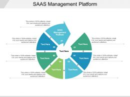 SAAS Management Platform Ppt Powerpoint Presentation File Aids Cpb
