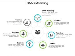 SAAS Marketing Ppt Powerpoint Presentation Infographic Template Deck Cpb