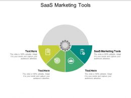 SaaS Marketing Tools Ppt Powerpoint Presentation Portfolio Templates Cpb