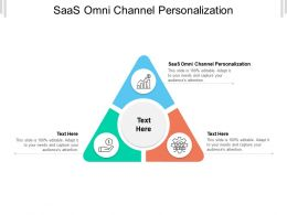 SAAS Omni Channel Personalization Ppt Powerpoint Presentation Slides Show Cpb