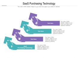 SaaS Purchasing Technology Ppt Powerpoint Presentation Inspiration Samples Cpb