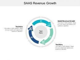 SAAS Revenue Growth Ppt Powerpoint Presentation Gallery Examples Cpb