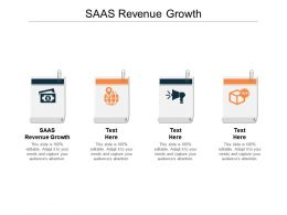 SAAS Revenue Growth Ppt Powerpoint Presentation Outline Images Cpb