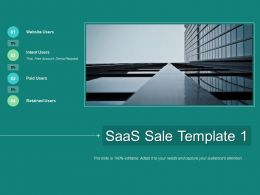 SaaS Sale Intent Users Ppt Powerpoint Presentation Infographics