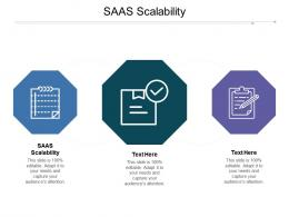 SaaS Scalability Ppt Powerpoint Presentation Infographics Information Cpb