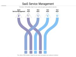 Saas Service Management Ppt Powerpoint Presentation Infographic Template Ideas Cpb