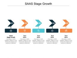 SAAS Stage Growth Ppt Powerpoint Presentation Outline Ideas Cpb