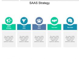 SAAS Strategy Ppt Powerpoint Presentation Professional Slides Cpb