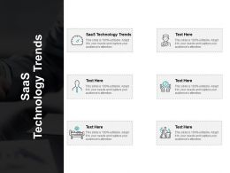 SaaS Technology Trends Ppt Powerpoint Presentation Rules Cpb