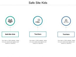 Safe Site Kids Ppt Powerpoint Presentation Gallery Slide Portrait Cpb