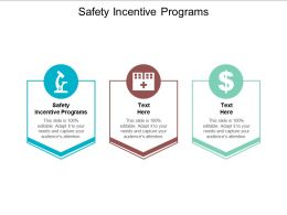 Safety Incentive Programs Ppt Powerpoint Presentation Infographic Template Examples Cpb