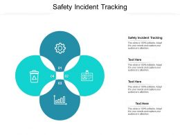 Safety Incident Tracking Ppt Powerpoint Presentation Gallery Ideas Cpb