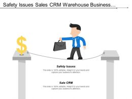Safety Issues Sales Crm Warehouse Business Opportunity Logistics Management