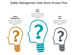 Safety Management Data Store Access Flow Attending Physician Cpb