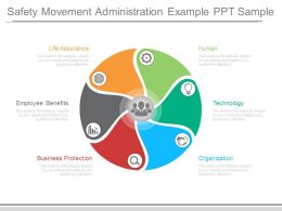 Safety Movement Administration Example Ppt Sample