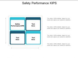 Safety Performance Kips Ppt Powerpoint Presentation Ideas Slides Cpb