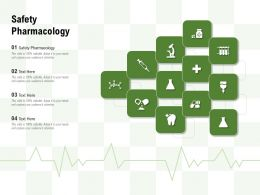 Safety Pharmacology Ppt Powerpoint Presentation Infographic Template Design Templates