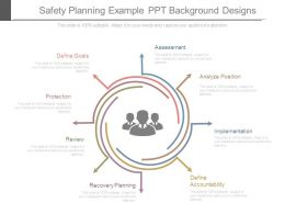 Safety Planning Example Ppt Background Designs