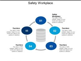 Safety Workplace Ppt Powerpoint Presentation Icon Slide Download Cpb