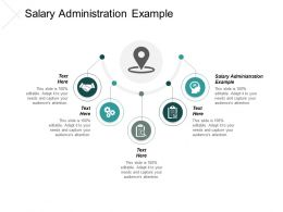 Salary Administration Example Ppt Slides Picture Cpb