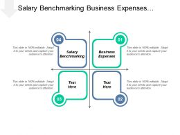 Salary Benchmarking Business Expenses Monthly Business Expenses Management Cpb