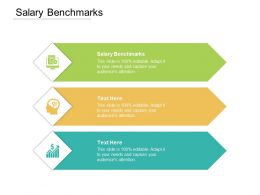 Salary Benchmarks Ppt Powerpoint Presentation Layouts Structure Cpb