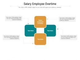 Salary Employee Overtime Ppt Powerpoint Presentation Portfolio Diagrams Cpb