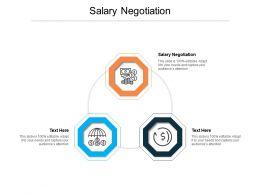 Salary Negotiation Ppt Powerpoint Presentation Styles Microsoft Cpb