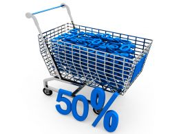 Sale Discount Shopping Concept Stock Photo