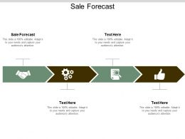 Sale Forecast Ppt Powerpoint Presentation Show Design Ideas Cpb