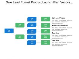 Sale Lead Funnel Product Launch Plan Vendor Management Business Goals