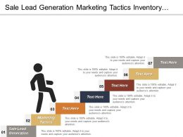 Sale Lead Generation Marketing Tactics Inventory Management Control Electric Sales